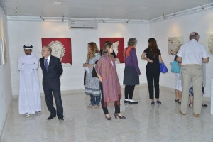 Abu Dhabi Art Hub Solo Exhibition 2015
